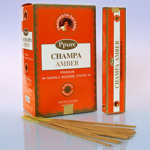 Благовония Ppure Амбер Amber Premium Masala Incense Sticks