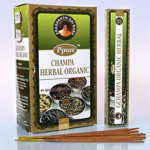 Благовония Ppure Целебные травы Herbal Organic Premium Masala Incense Sticks