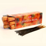 Благовоние «Африканский МУСК» (Hem African Musk incense sticks).