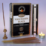 Благовония Ppure Черный Опиум Black Opium Incense Sticks