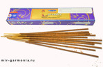 Благовоние Лаванда Satya Natural Lavender Incense 15г