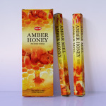Благовоние «АМБЕР+МЕД» (Hem Amber - Нoney incense sticks).
