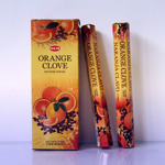 Благовоние «Апельсин+Гвоздика» ( HEM Hexa ORANGE-CLOVE incense sticks).