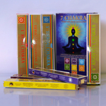 Благовония Ppure 7 Чакр 7 Chakras 7 Packets Ayurvedic Masala Incense Sticks