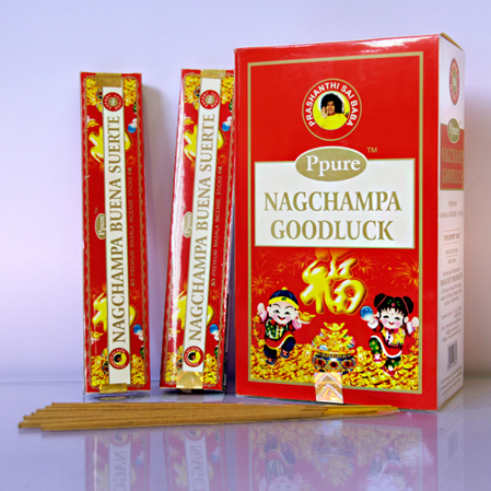 Благовония Ppure Добрая Удача Good Luck Masala Incense Sticks
