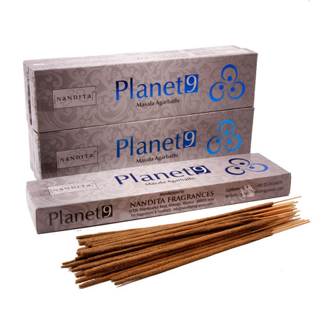 Благовония Nandita Indian Planet 9 Natural Incense (Девятая Планета) масала 50г
