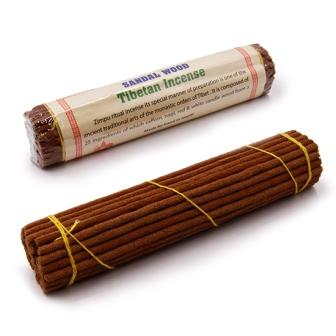Сандал Sandalwood Tibetan Incense 14,5cm 38gm